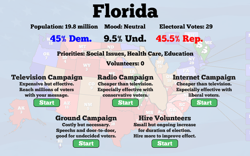 Campaign Manager - screenshot