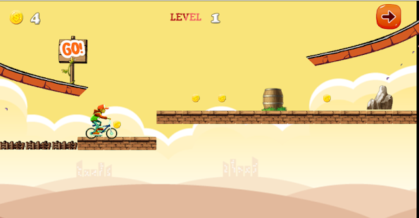 Subway BMX Guardian Games free - screenshot