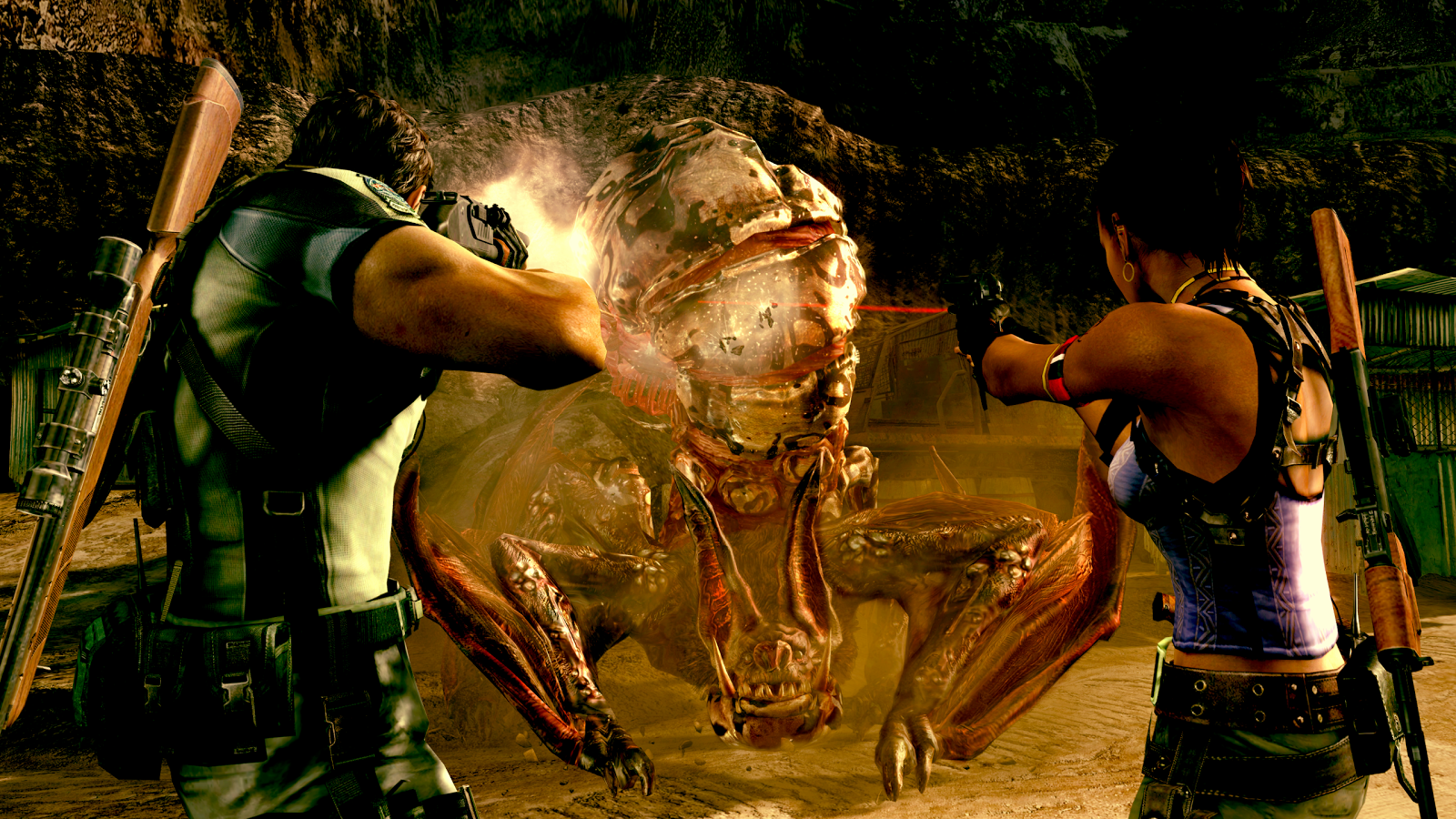 Resident Evil 5 for SHIELD TV Screenshot 1