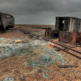 Planetvista-Dungeness by Oliver Kluwe - Travel Locations Landmarks ( low contrast, hdr, high quality, in focus )