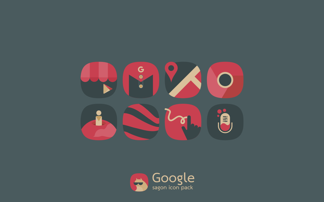 Sagon Icon Pack Screenshot 2