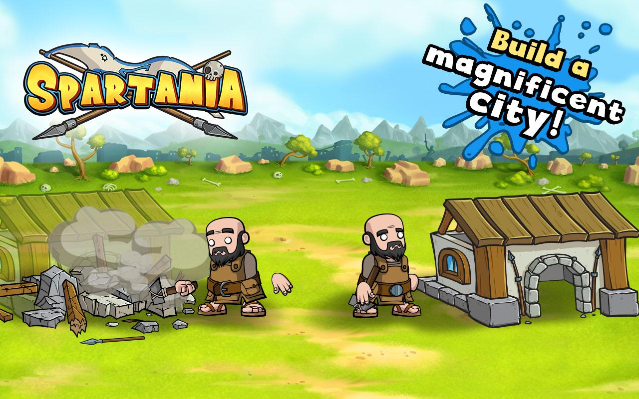 Spartania: Casual Strategy Screenshot 1