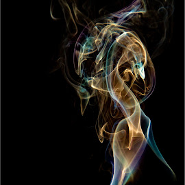 Smoke by Ronny Mariano - Abstract Light Painting ( 2016, smoke )
