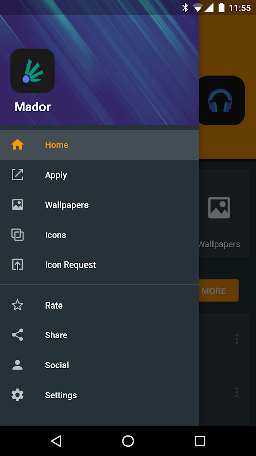 Mador - Icon Pack Screenshot 6