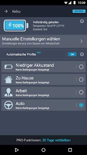 AVG Reinigungsapp & Akku Sparen (Android/Deutsch) – Miniaturansicht des Screenshots