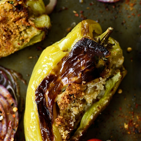Stuffed Cubanelle Peppers