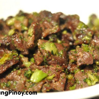 Beef Stir Fry with Chopped Broccoli