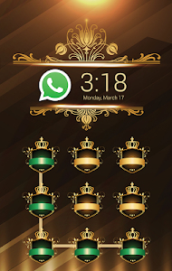 Gold Metal CM SecurityTheme 이미지[1]