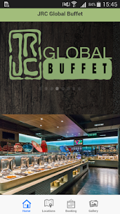 JRC Global Buffet - screenshot