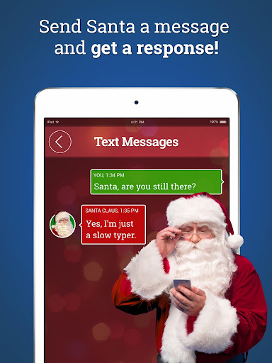 Message from Santa - phone call, voicemail & text screenshot 2