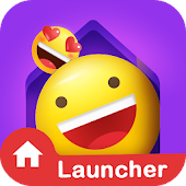 IN Launcher - Themes, Emojis & GIFs icon