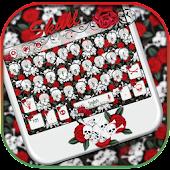 App Skull Rose Keyboard theme APK for Kindle