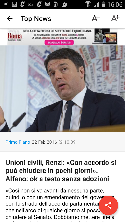 Il Messaggero Screenshot 1