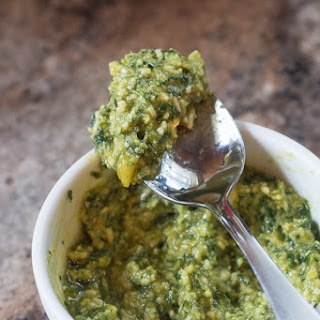 Easy Pesto Sauce Recipe and Hamilton Beach Blender Giveaway