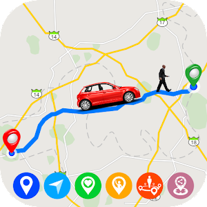 GPS Route Finder : Maps, Navigation & Direction