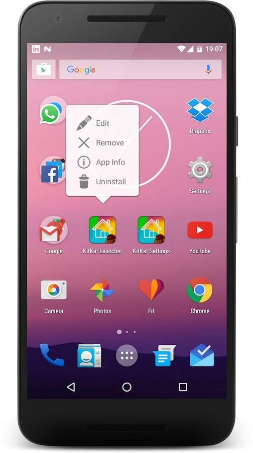 KitKat Launcher Screenshot 2
