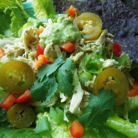 Fresh Mex Tomatillo Cilantro Chicken Salad