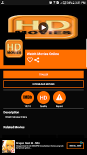 HD Movies Online Screenshot