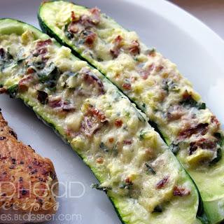 Stuffed Zucchini Bacon Recipes