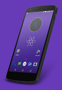 Nuclear Violet CM12.1 Theme- screenshot thumbnail