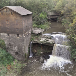 Lanterman's Mill by Mike Roth - Buildings & Architecture Public & Historical