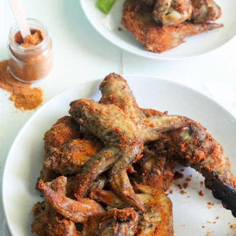 Buffalo Spice Rub Chicken Wings