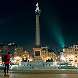 Trafalgar Square - London by Joao Pico - Buildings & Architecture Statues & Monuments ( london, trafalgar square )