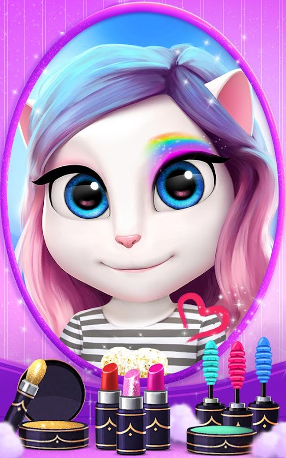 My Talking Angela  Poster