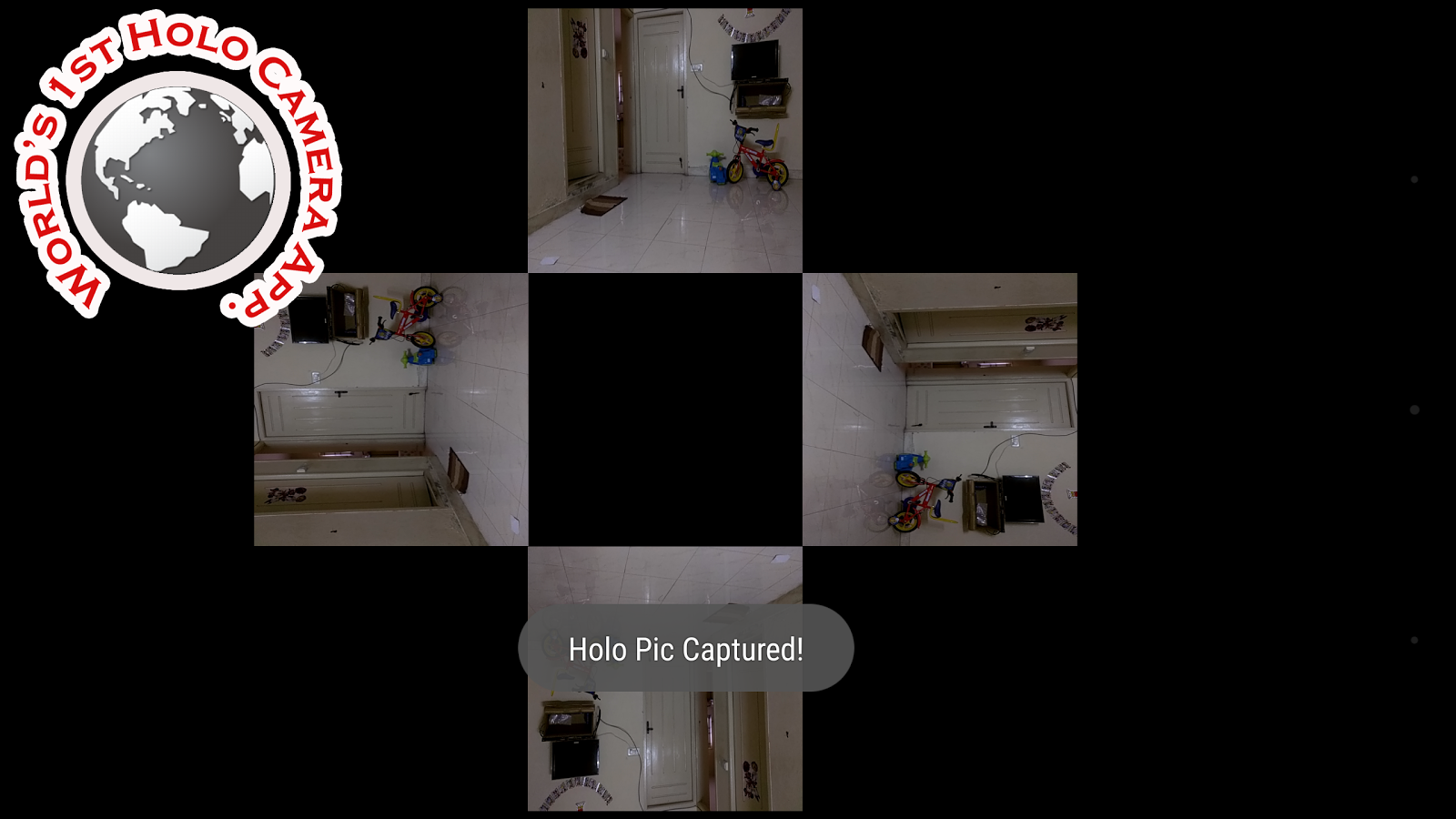 Hologram Video Player Screenshot