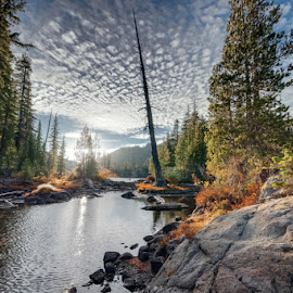Autumn at Five Lakes by Dustin Montgomery - Landscapes Waterscapes ( sigma, autumn, california, fall, sierra, nikon, alpine )