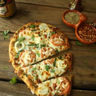 Basil Pesto Flatbread Pizza Recipes