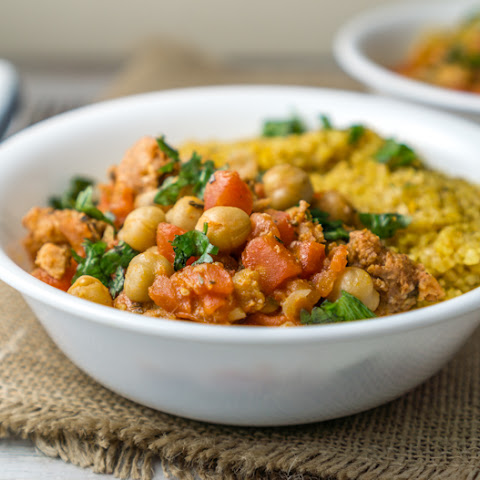 25 Minute Chickpeas with Chorizo