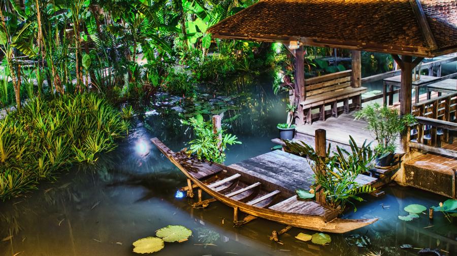 Lonely Cano by Gema Goeyardi - Novices Only Landscapes ( bangkok, lake, cano )