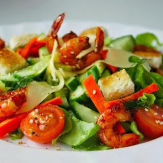 Simple Seafood Vegetable Salad Recipes