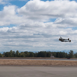 P38 Lightning by François LaLagüe - Transportation Airplanes