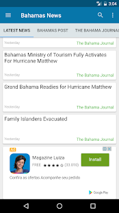 Bahamas News - screenshot