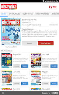 Electronics For You - screenshot