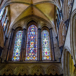 Salisbury Cathedral by Sergey Sibirtsev - Buildings & Architecture Architectural Detail ( magna, temple, salisbury, england, uk, church, magna carta, salisbury cathedral, cathedral, united kingdom )