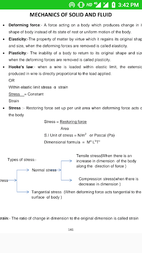 Physics notes for class 11 screenshot 6
