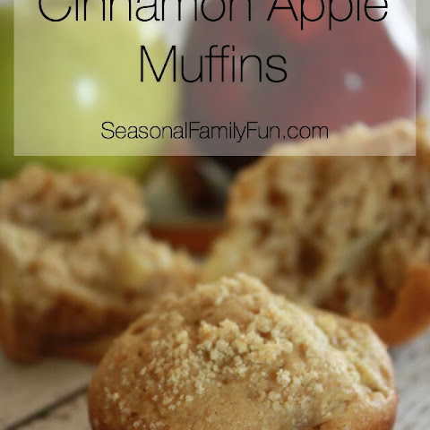 Cinnamon Apple Muffins {recipe}