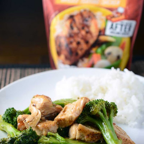 Grilled Chicken Teriyaki & Broccoli Stir Fry