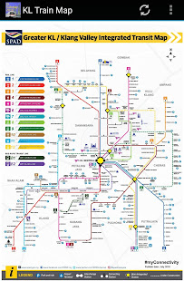 malesian kartta google Kuala Lumpur (KL) MRT LRT Train Map 2018   Apps on Google Play malesian kartta google