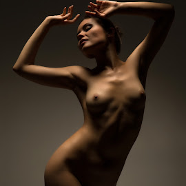 Marisabel by Vadim Gunko - Nudes & Boudoir Artistic Nude ( models, girls, body, nude, shadows )