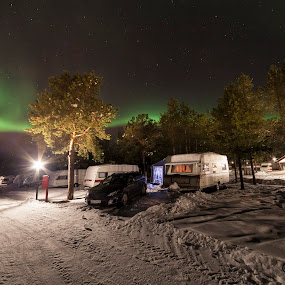 The good camping life by Jan kåre Paulsen - Landscapes Starscapes