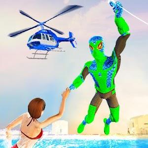 Amazing Frog Rope Man hero: Miami Crime city games For PC / Windows 7/8/10 / Mac – Free Download