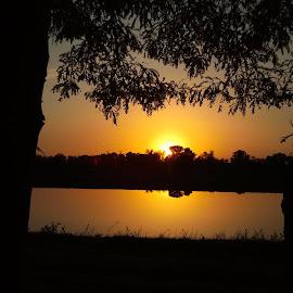 Sunset by CV Mari - Nature Up Close Water