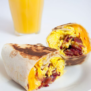 Bacon, Egg & Cheese Breakfast Wrap