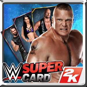 Cover art WWE SuperCard