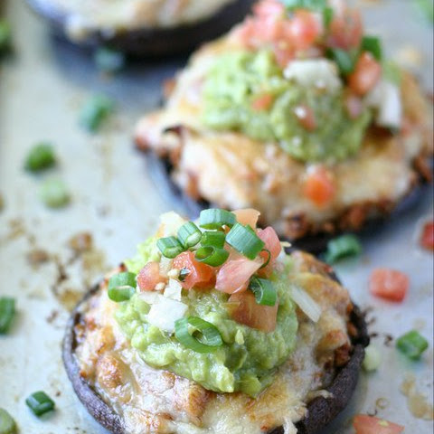 Taco Stuffed Portabello Mushrooms