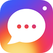Download InstaMessage-Chat,meet,hangout APK on PC